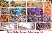 STC - Tube Kit - Large Dirty Water Teaser Tubes
