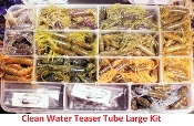STC - Tube Kit - Large Clean Water Teaser Tubes