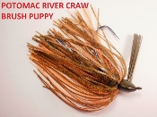Brush Puppy Jigs - River Craw - Potomac