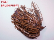Brush Puppy Jigs - Pumpkins - PB&J