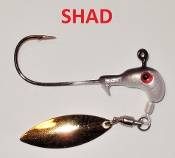 STC Horsehead Underspin - 1/4 oz Shad