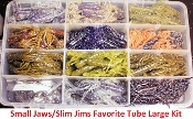 STC- Tube Kit - Large Favorite Small Jaws/Slim Jims