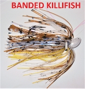 Swim Jig- Shiners/Daces - Banded Killifish