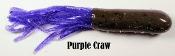STC Teaser Tubes - 2 3/4 inch - Purple Craw