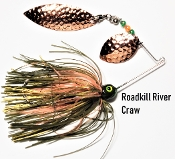 STC River Spinnerbait - Roadkill River Craw