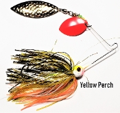 STC Natural Spinnerbaits - Yellow Perch