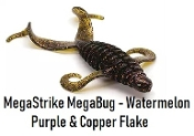 MegaStrike 3 Inch MegaBug - Watermelon Purple & Copper Flake