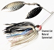 STC Natural Spinnerbaits - Channel Cat