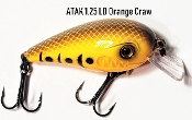 Atak Series 1.25 Crankbait - LD Orange Craw