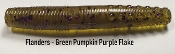 STC Flanders - Green Pumpkin Purple Flake